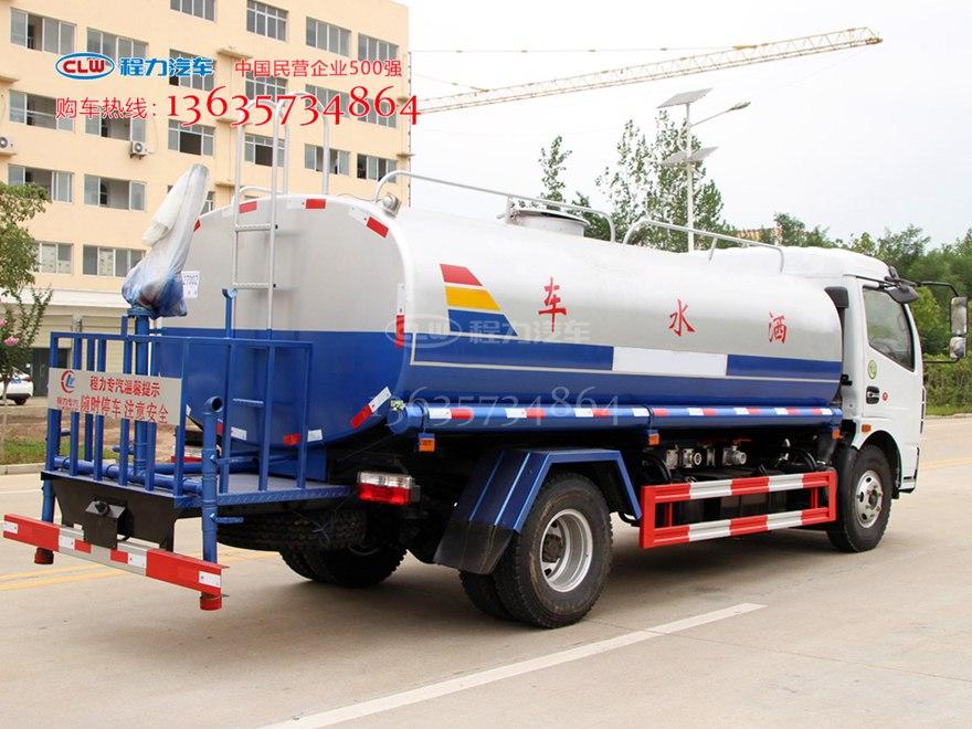 国五9立方绿化喷洒车 多功能洒水车