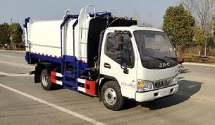 程力威牌CLW5040ZZZH5型自装卸式垃圾车