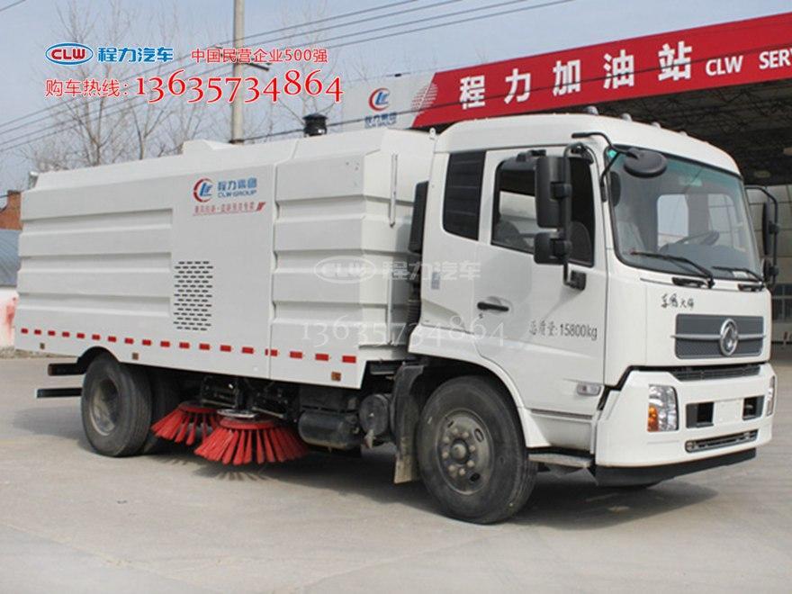 天锦扫路车 程力威牌CLW5168TSLD5型扫路车