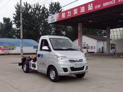 程力威牌CLW5022ZXX5型车厢可卸式垃圾车